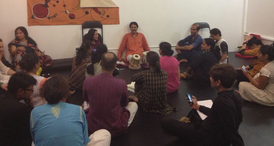 Rajendra Gangani Workshop at Navatman